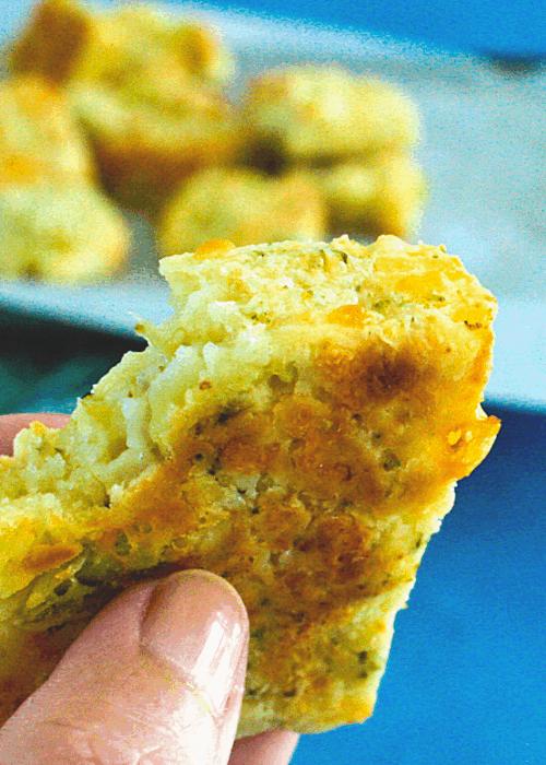 cheesy broccoli slice