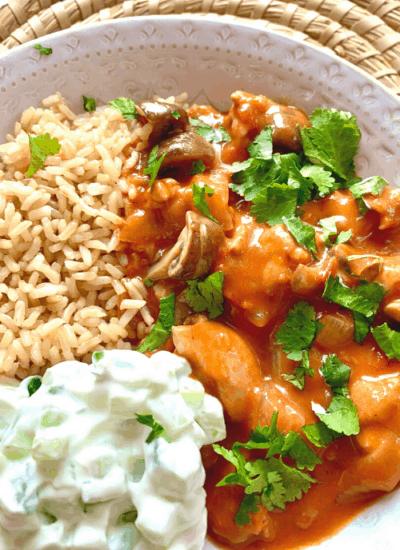 chicken-mushroom-curry