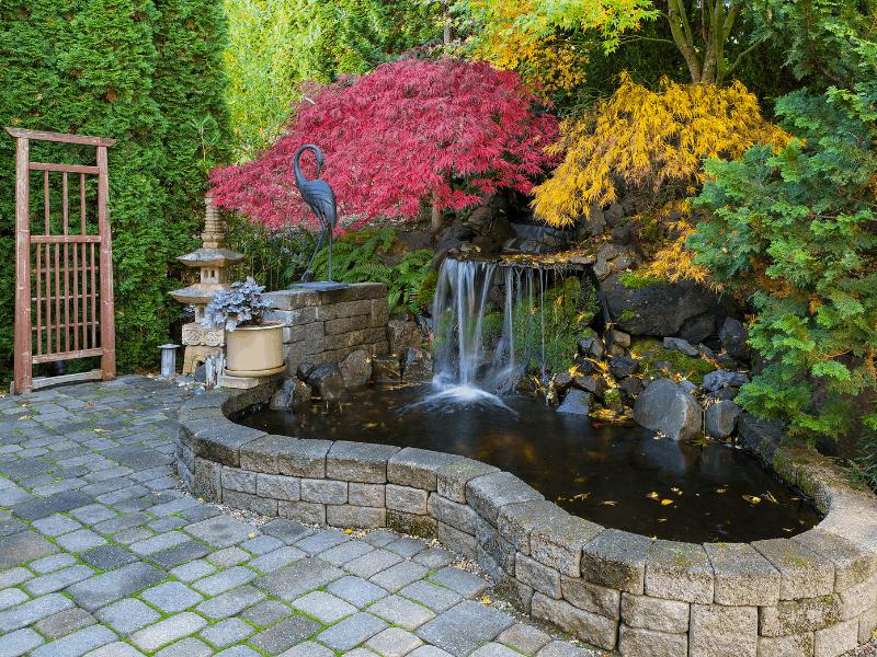 patio waterfall
