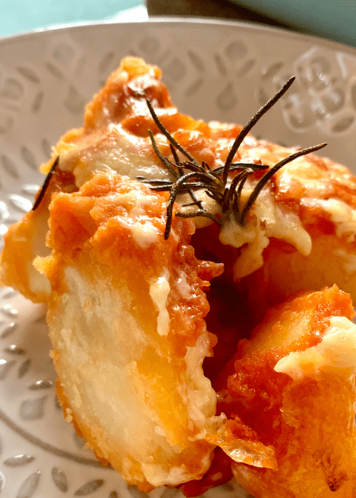Cheese And Tomato Bake