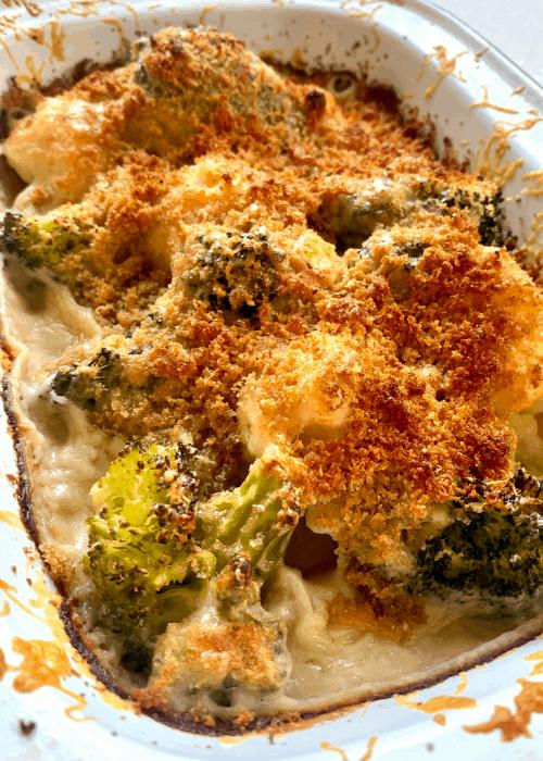 broccoli cauliflower casserole healthy