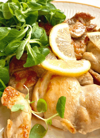 clean eating chicken piccata