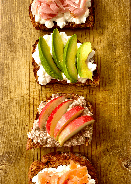 cottage cheese on toast 6 delicious ways