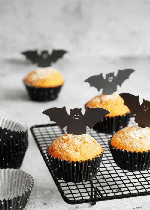 halloween kids pumpkin muffins