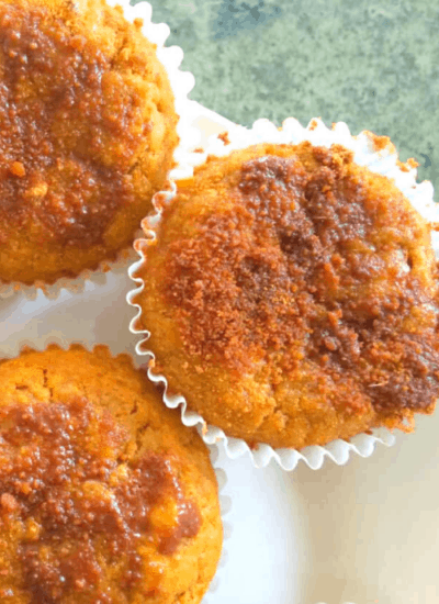 clean eating pumpkin muffins