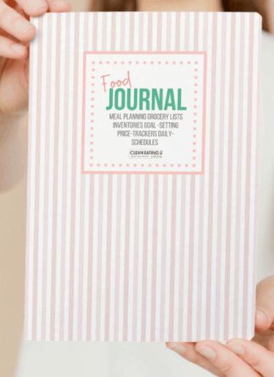 printable food journal