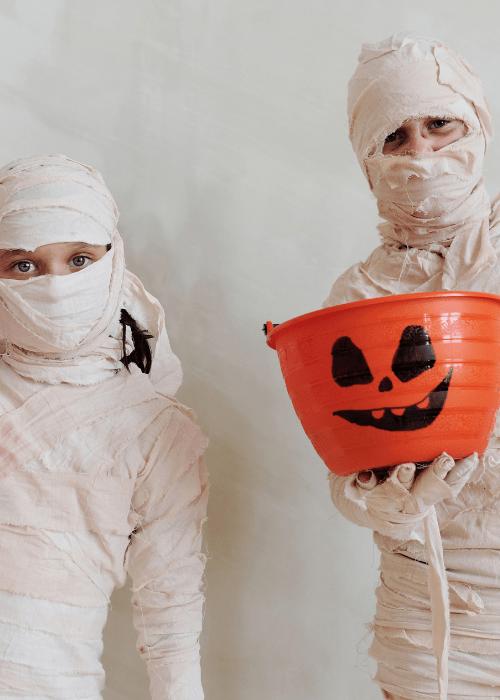 halloween dressing up