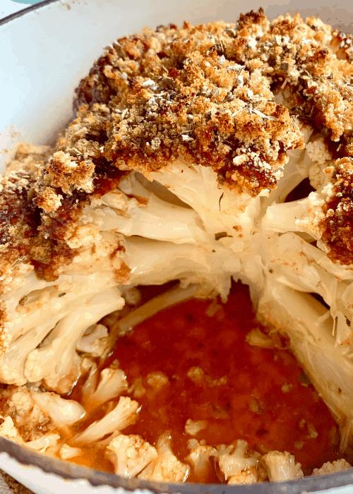 bbq roast cauliflower