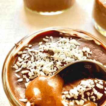 salted caramel pudding