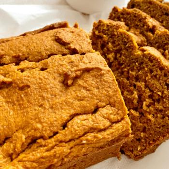 spiced pumpkin bread