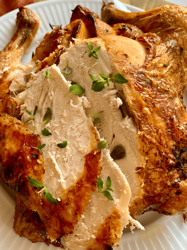 Roast Chicken With Lemon And Thyme