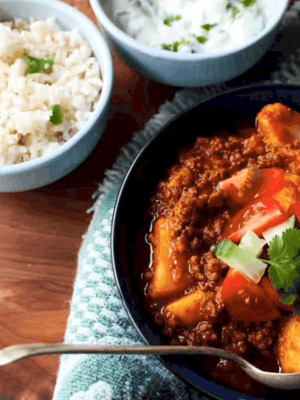 beef mince curry recipe