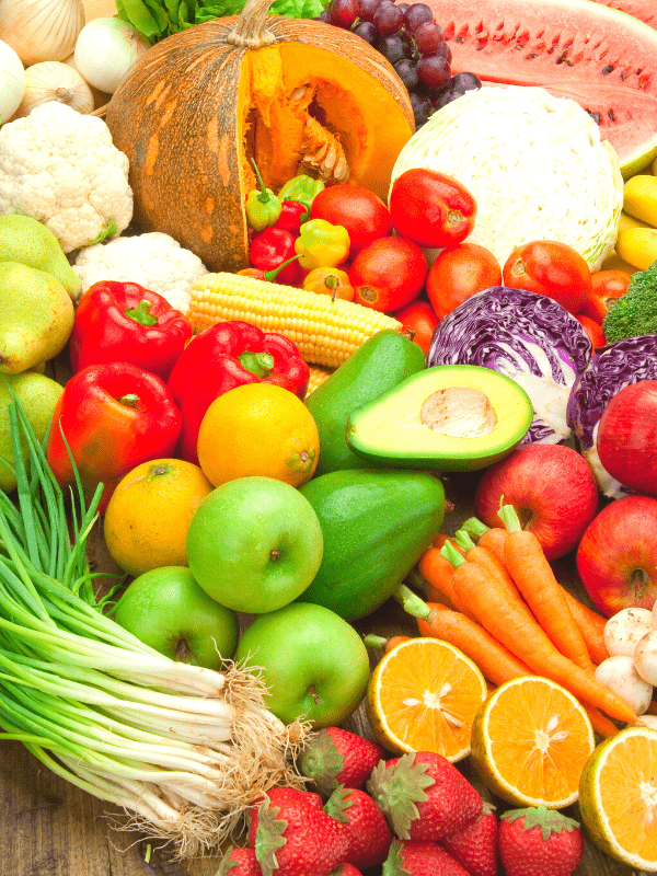 immunity fruit and vegetables